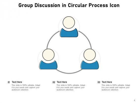Discussion_Group_Meeting_Idea_Icon_Communication_Circle_Ppt_PowerPoint_Presentation_Complete_Deck_Slide_4