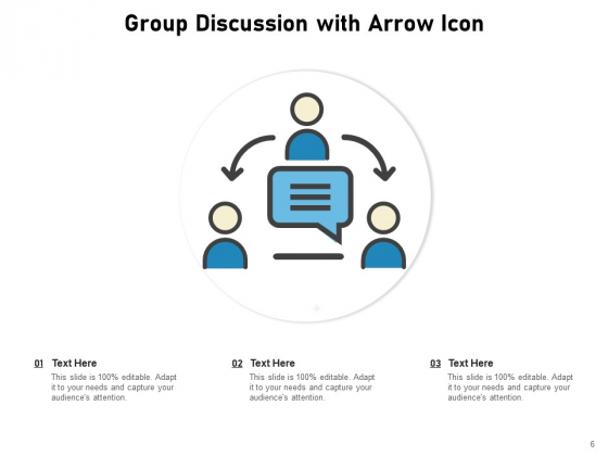 Discussion_Group_Meeting_Idea_Icon_Communication_Circle_Ppt_PowerPoint_Presentation_Complete_Deck_Slide_6