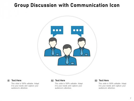 Discussion_Group_Meeting_Idea_Icon_Communication_Circle_Ppt_PowerPoint_Presentation_Complete_Deck_Slide_7