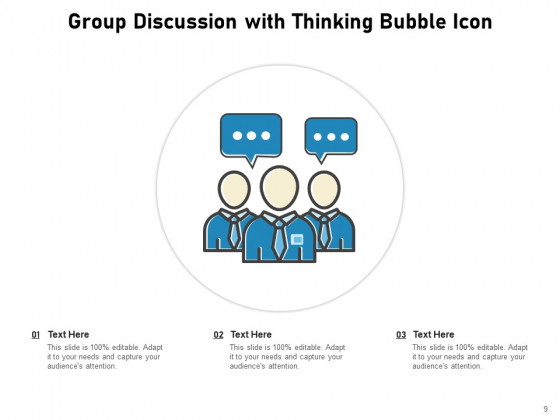 Discussion_Group_Meeting_Idea_Icon_Communication_Circle_Ppt_PowerPoint_Presentation_Complete_Deck_Slide_9