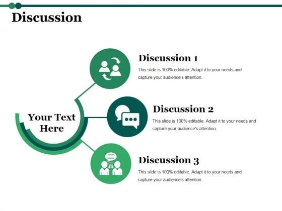 Discussion Ppt PowerPoint Presentation Portfolio Example Topics