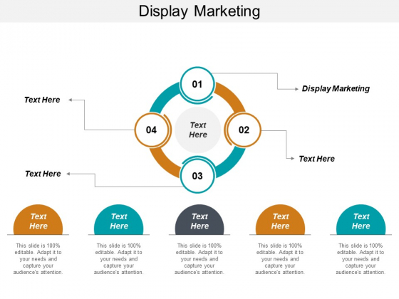 Display Marketing Ppt PowerPoint Presentation Infographic Template Aids Cpb