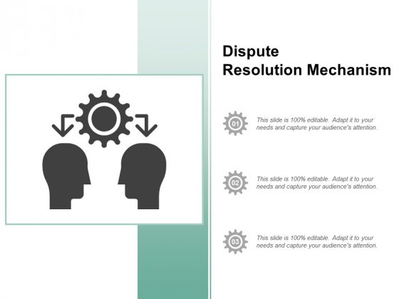 Dispute Resolution Mechanism Ppt PowerPoint Presentation Infographics Rules