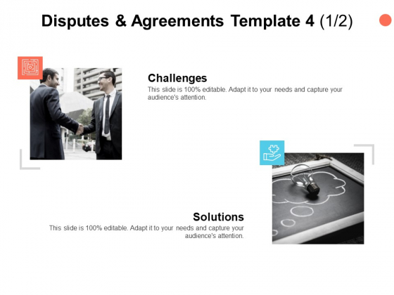 Disputes And Agreements Template Teamwork Ppt PowerPoint Presentation Styles Icon