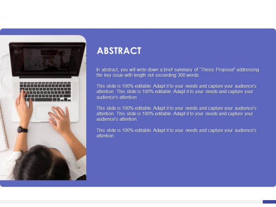 Dissertation Planning Proposal Abstract Ppt Show Infographics PDF