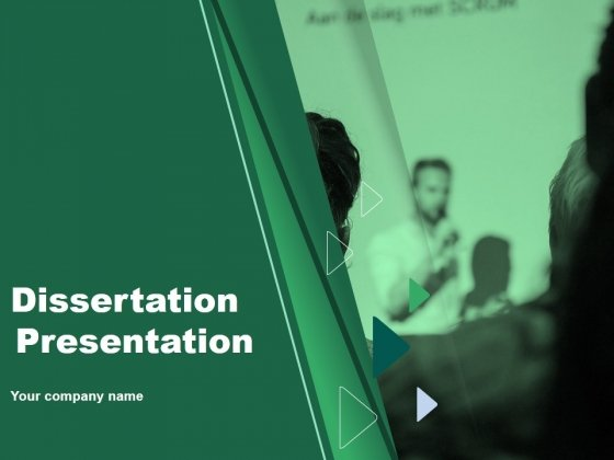 Dissertation Presentation Ppt PowerPoint Presentation Complete Deck With Slides