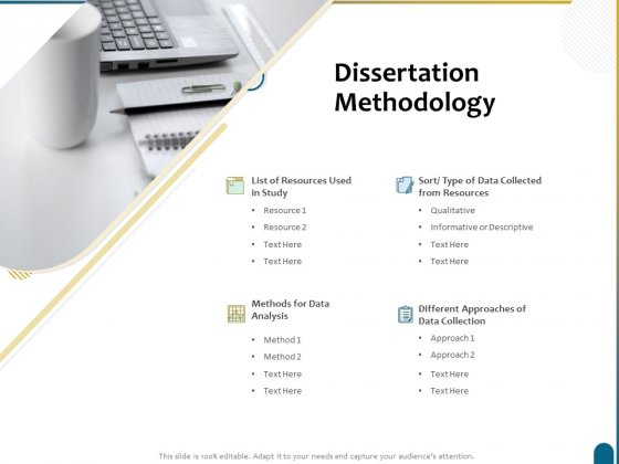 Dissertation Research Dissertation Methodology Ppt Pictures Files PDF
