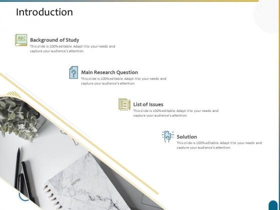 Dissertation Research Introduction Ppt Slides Clipart Images PDF