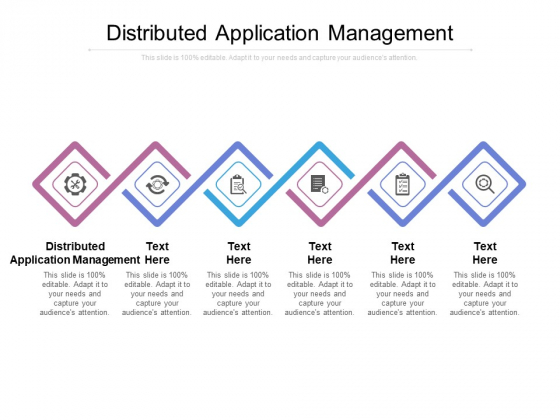 Distributed Application Management Ppt PowerPoint Presentation File Professional Cpb