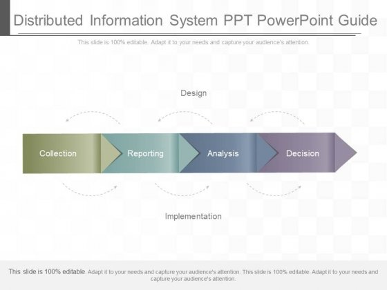 Distributed Information System Ppt Powerpoint Guide