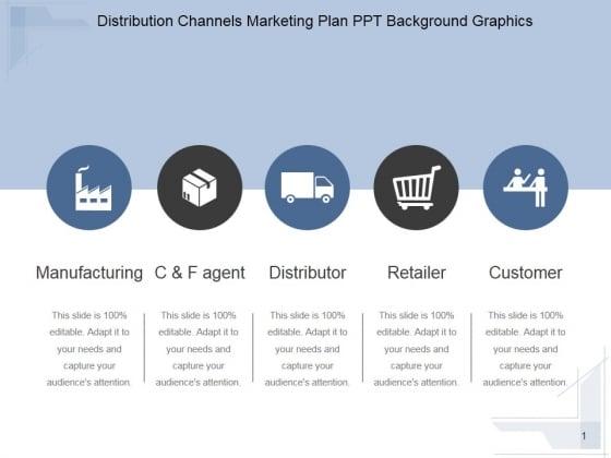 Distribution Channels Marketing Plan Ppt PowerPoint Presentation Design Ideas