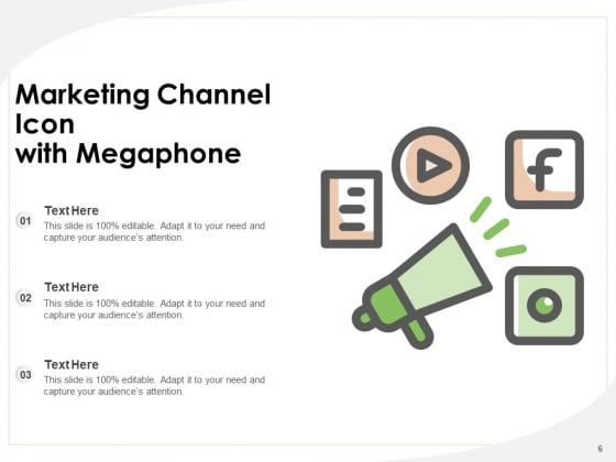 Distribution_Icon_Digital_Marketing_Email_Marketing_Megaphone_Ppt_PowerPoint_Presentation_Complete_Deck_Slide_6