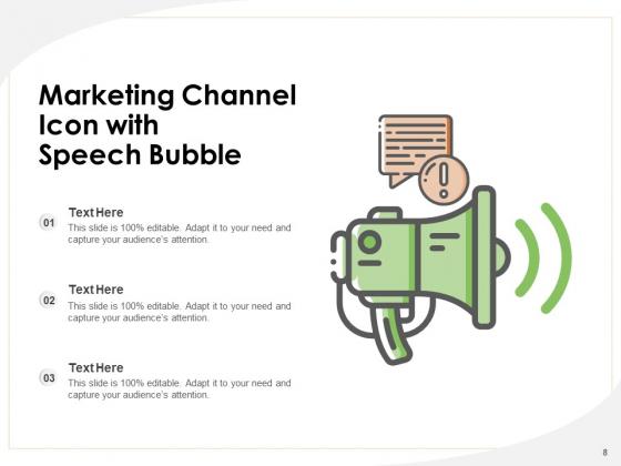 Distribution_Icon_Digital_Marketing_Email_Marketing_Megaphone_Ppt_PowerPoint_Presentation_Complete_Deck_Slide_8