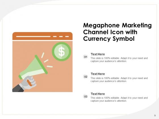 Distribution_Icon_Digital_Marketing_Email_Marketing_Megaphone_Ppt_PowerPoint_Presentation_Complete_Deck_Slide_9