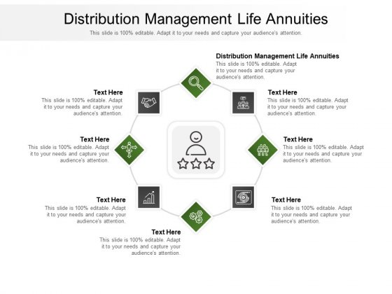 Distribution Management Life Annuities Ppt PowerPoint Presentation Infographic Template Shapes Cpb Pdf
