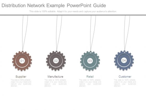 Distribution Network Example Powerpoint Guide