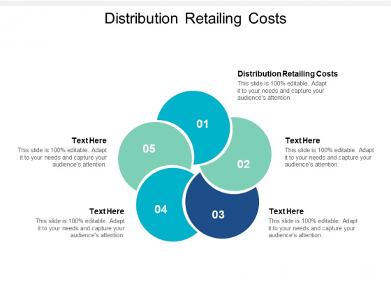 Distribution Retailing Costs Ppt PowerPoint Presentation Outline Templates Cpb