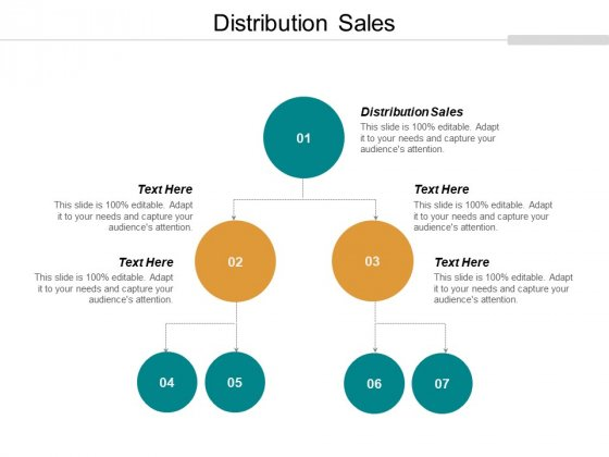 Distribution Sales Ppt PowerPoint Presentation Professional Format Ideas Cpb