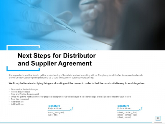 Distributor_And_Supplier_Agreement_Proposal_Ppt_PowerPoint_Presentation_Complete_Deck_With_Slides_Slide_12