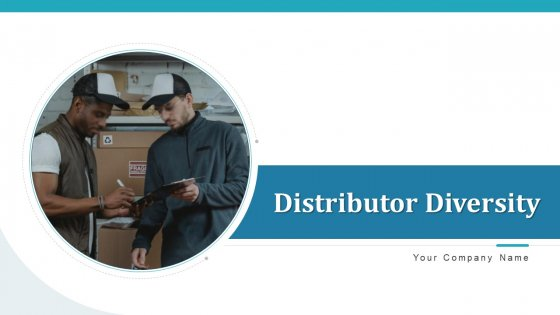 Distributor Diversity Research Diagnostic Ppt PowerPoint Presentation Complete Deck With Slides