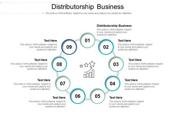 Distributorship Business Ppt PowerPoint Presentation Infographic Template Slideshow Cpb Pdf