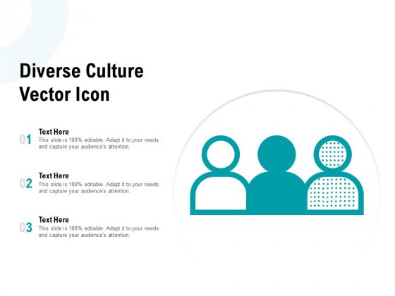 Diverse Culture Vector Icon Ppt PowerPoint Presentation Slide Download