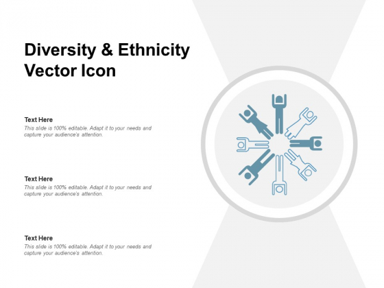 Diversity And Ethnicity Vector Icon Ppt PowerPoint Presentation Inspiration Microsoft