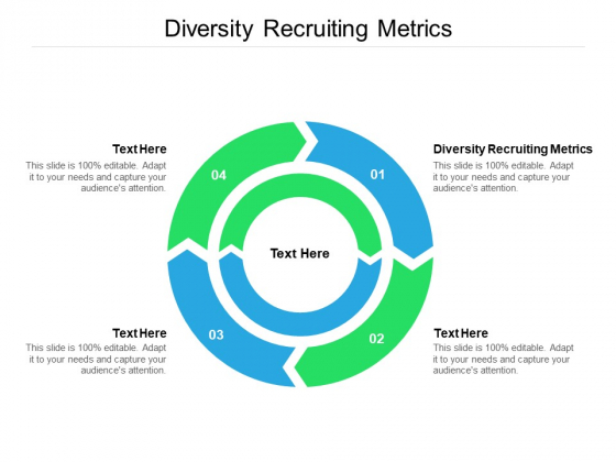 Diversity Recruiting Metrics Ppt PowerPoint Presentation Layouts Graphics Cpb