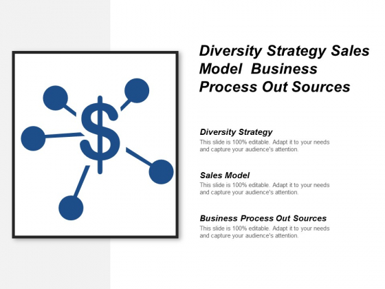 Diversity Strategy Sales Model Business Process Out Sources Ppt PowerPoint Presentation Model Inspiration