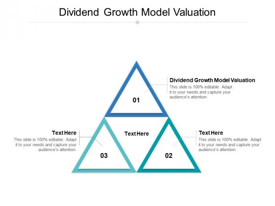 Dividend Growth Model Valuation Ppt PowerPoint Presentation Slides Graphics Example Cpb Pdf