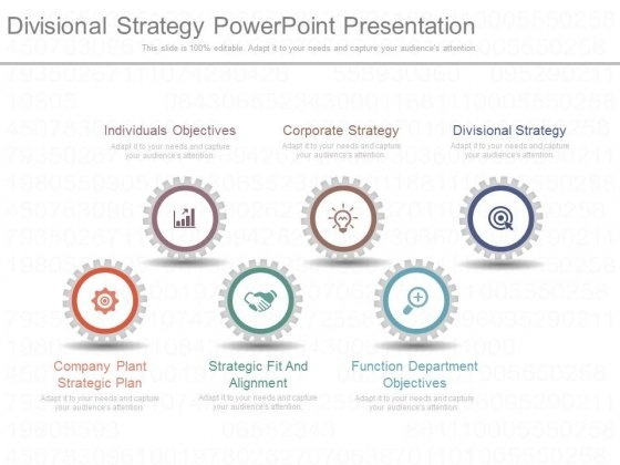 Divisional Strategy Powerpoint Presentation