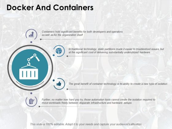 Docker And Containers Ppt PowerPoint Presentation Diagrams