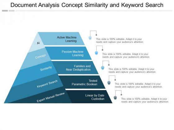 Document Analysis Concept Similarity And Keyword Search Ppt PowerPoint Presentation Styles Display