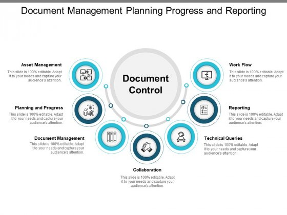 Document Management Planning Progress And Reporting Ppt PowerPoint Presentation Model Aids