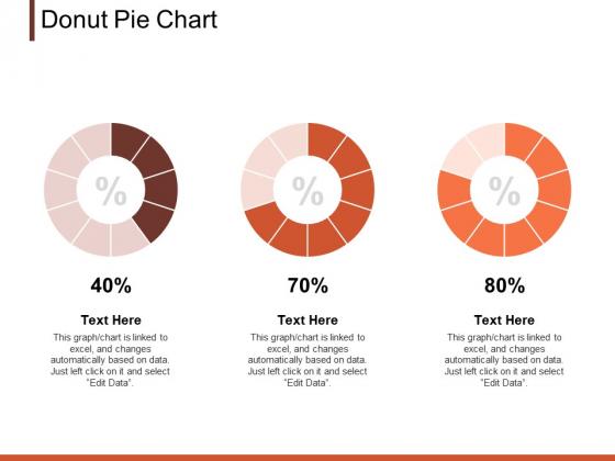 Donut Pie Chart Marketing Ppt PowerPoint Presentation Clipart