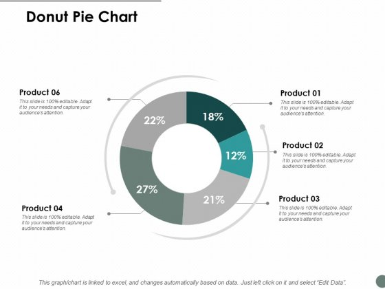 Donut Pie Chart Marketing Ppt Powerpoint Presentation Infographic Template Graphics Template