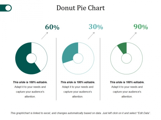 Donut Pie Chart Ppt PowerPoint Presentation Examples