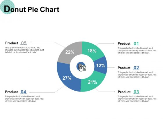 Donut Pie Chart Ppt PowerPoint Presentation File Vector