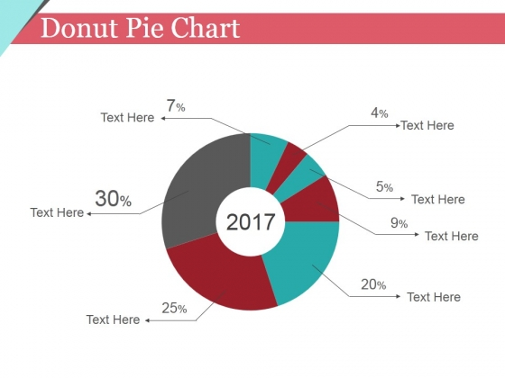 Donut Pie Chart Ppt PowerPoint Presentation Icon Layout