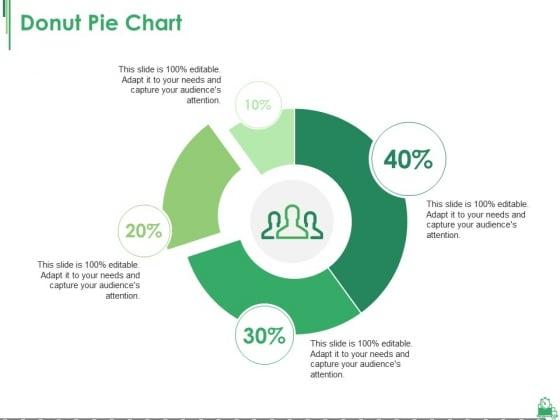 Donut Pie Chart Ppt PowerPoint Presentation Ideas Guide