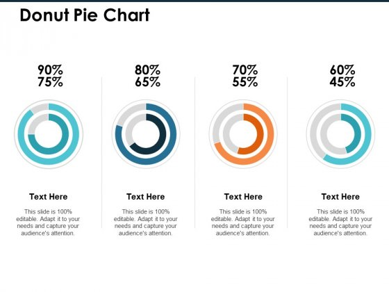 Donut Pie Chart Ppt PowerPoint Presentation Infographic Template Professional