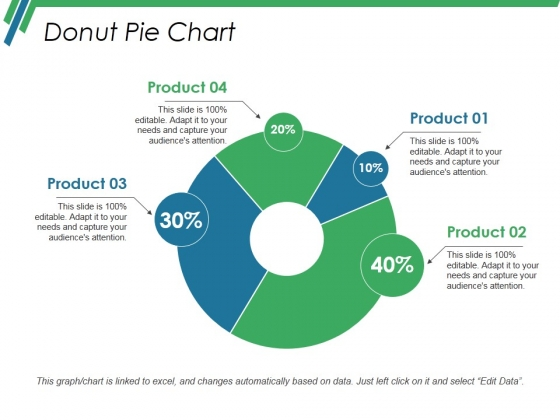 Donut Pie Chart Ppt PowerPoint Presentation Infographic Template Vector
