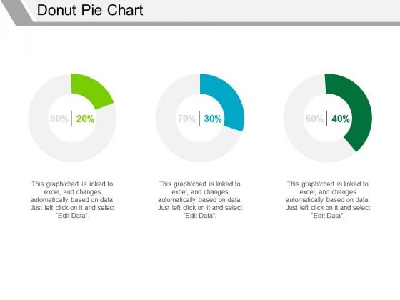 Donut Pie Chart Ppt PowerPoint Presentation Infographics Background Designs