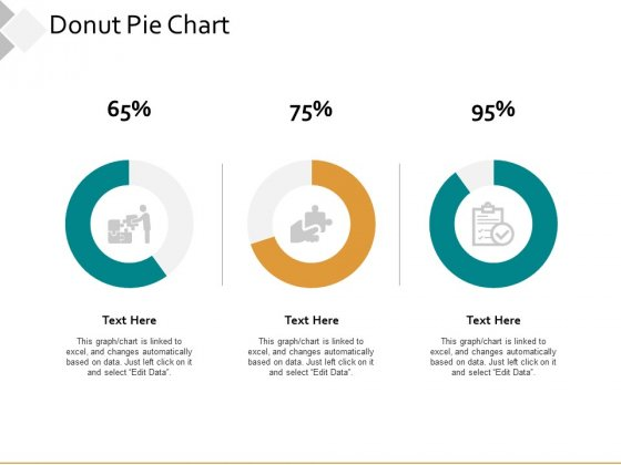 Donut Pie Chart Ppt PowerPoint Presentation Infographics Examples