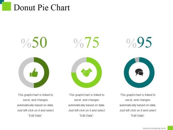 Donut Pie Chart Ppt PowerPoint Presentation Inspiration Deck