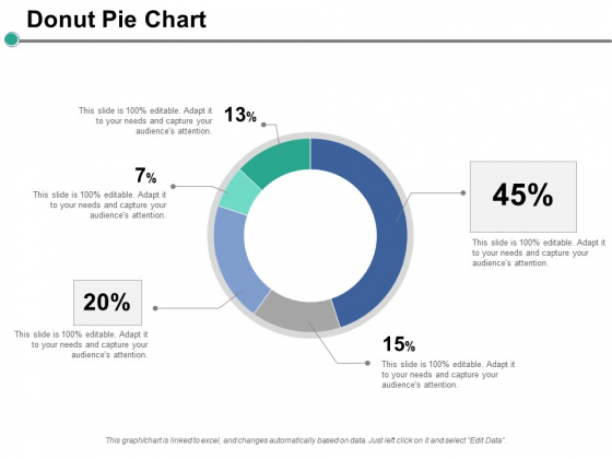 Donut Pie Chart Ppt PowerPoint Presentation Layouts Backgrounds