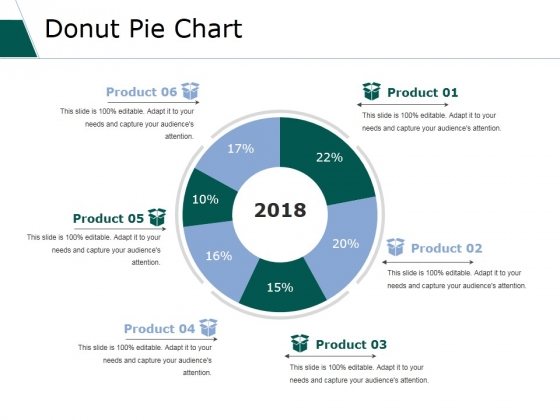 Donut Pie Chart Ppt PowerPoint Presentation Model Icon