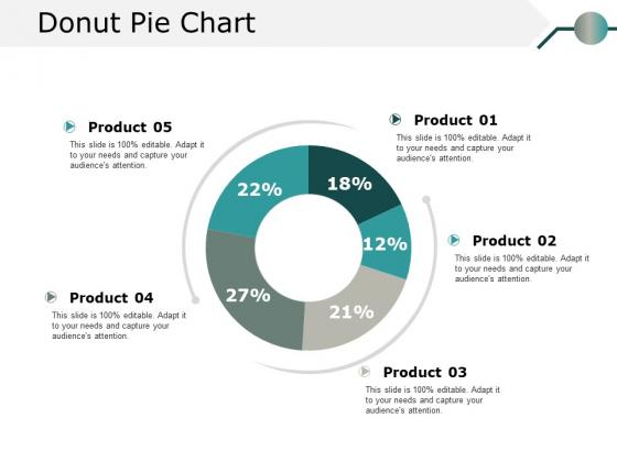 Donut Pie Chart Ppt PowerPoint Presentation Model Information
