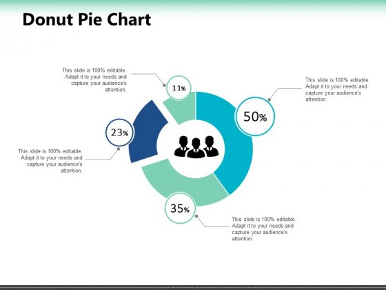 Donut Pie Chart Ppt PowerPoint Presentation Outline Deck