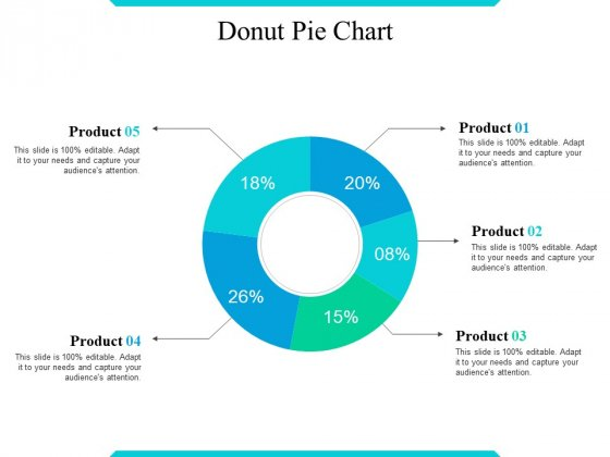 Donut Pie Chart Ppt PowerPoint Presentation Outline Display